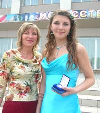 Лучшая награда для мамы - успех детей. Татьяна Косточкина с мамой Екатериной Филипповной